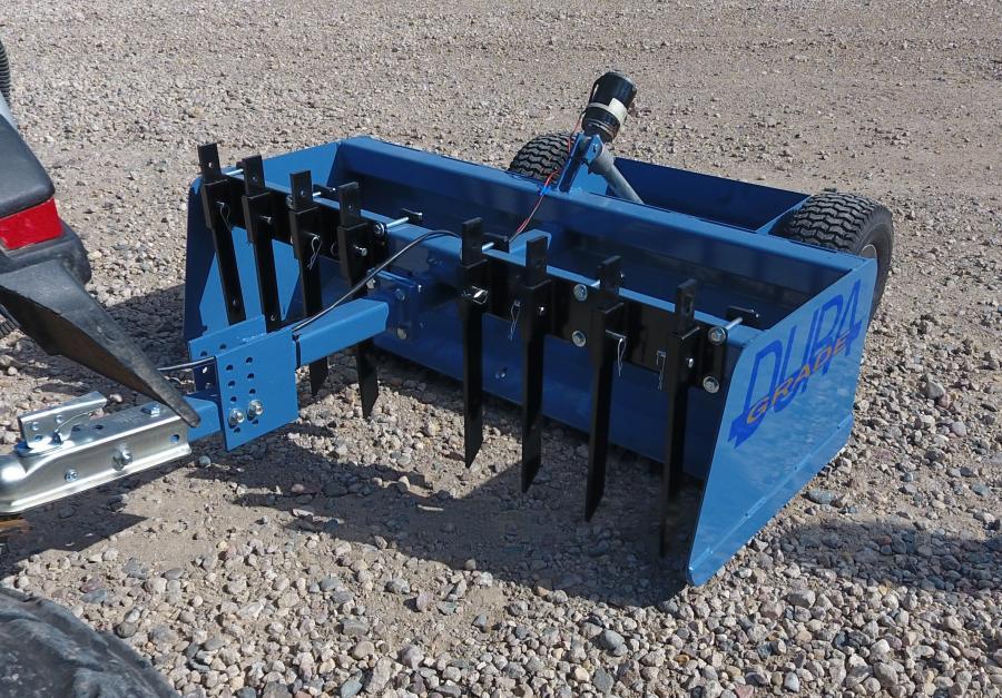 duragrade duragrade box scraper for small garden tractors atvs quads