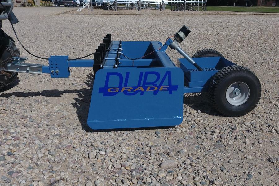 DuraGrade - DuraGrade Box Scraper for Mini Skids, Small